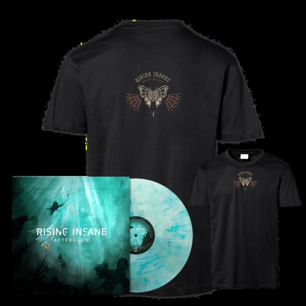 "Afterglow LP-Bundle + Shirt ""Meant To Live"""